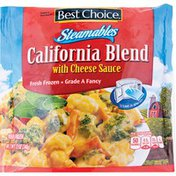 Best Choice Steamables California Blend With Cheese Sauce