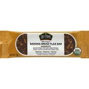 Go Raw Flax Bar, 100% Organic, Banana Bread