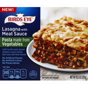 Birds Eye Lasagna, with Meat Sauce