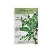Botanical Interests Organic Rapini Broccoli Raab Seeds