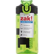 Zak Water Bottle, Leak-Proof, Minecraft, 16 Ounce