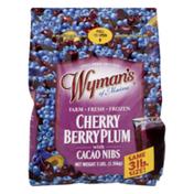 Wyman's Cherry Berry Plum  with Cacao Nibs