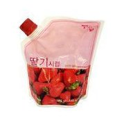 Hwagwabang Japanese Paper Strawberry Syrup