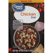 Great Value Chicken Broth, Value Size