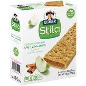 Quaker Stila Apple Cinnamon .91 oz Crispy Oat Cookie Bars