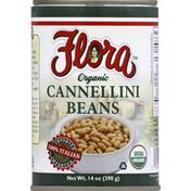 Flora Cannellini Beans, Organic