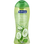 Softsoap Body Wash, Hydrating, Cucumber Water & Mint
