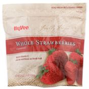 Hy-Vee Freshly Frozen Unsweetened Whole Strawberries