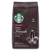 Starbucks Dark Roast Ground Coffee — French Roast