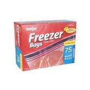 Meijer Re Closable Double Zipper Quart Freezer Bags