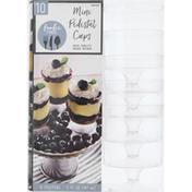 Amscan Pedestal Cups, Mini, 5 Fluid Ounce