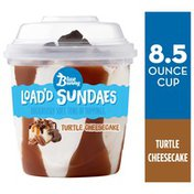 Blue Bunny Load'd Sundaes Turtle Cheesecake Cup