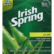 Irish Spring Bar Soap Aloe