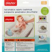 Playtex Bath Tub, Inflatable Safety