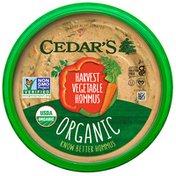Cedar's Foods Organic Harvest Vegetable Hommus