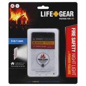 Life Gear Night Light, Fire Safety, + Power Failure