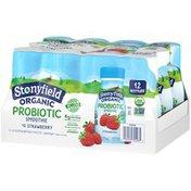 Stonyfield® Organic Organic Strawberry Probiotic Lowfat Yogurt Smoothie