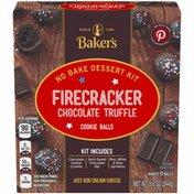 Baker'S Winter Chocolate Truffle Cookie Balls No Bake Dessert Kit