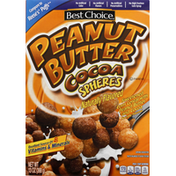 Best Choice Cereal, Cocoa Spheres, Peanut Butter