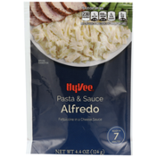 Hy-Vee Alfredo Fettuccine Pasta In A Cheese Sauce