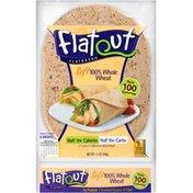 Flatout Soft 100% Whole Wheat Flatbread