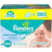 Pampers Wipes, Baby Fresh