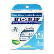 Boiron Jet Lag Relief, 80-Pellet Tubes, Homeopathic Medicine to Relieve Nausea, Stiffness, Muscle Pain, Drowsiness