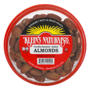 Klein's Naturals Almonds, Freshly Roasted, Salted