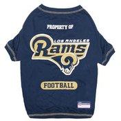 Pet First Large NFL Los Angeles Rams Pet T-Shirt