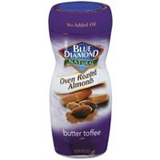 Blue Diamond Almonds Natural Oven Roasted Butter Toffee Almonds