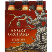 Angry Orchard Hard Cider, Stone Dry