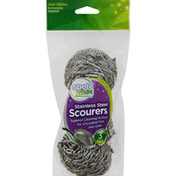 Spot Clean Stainless Steel Scourers