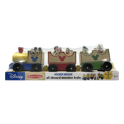 Disney Mickey Mouse All Aboard Wooden Train