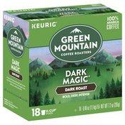Green Mountain Coffee, 100% Arabica, Dark Roast, Dark Magic, K-Cup Pods