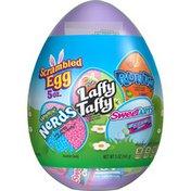 Brach's Easter Scrambled Egg Hoppin' Nerds Laffy Taffy & Runts Easter Candy Variety Egg