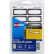 Avery ID Labels, Durable, Permanent, 3/4 Inch x 1-3/4 Inch