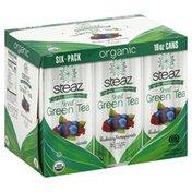 Steaz Green Tea, Blueberry Pomegranate, Iced