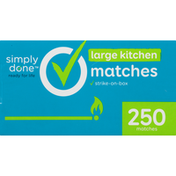 Simply Done Large Kitchen Matches