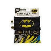 Bumkins 3-Pieces DC Batman Comics Reusable Snack Bag