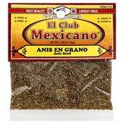 El Club Mexicano Anis Seed, Card