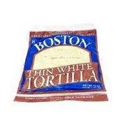 Boston Thin White Tortilla