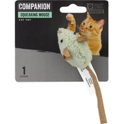 Companion Cat Toy, Squeaking Mouse