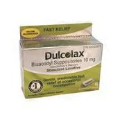 Dulcolax Stimulant Laxative Bisacodyl Suppositories