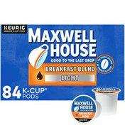 Maxwell House Breakfast Blend Light Roast K-Cup Coffee Pods