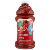 Food Club 100% Tomato Juice From Concentrate With Added Ingredients