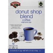Hannaford Donut Shop Blend Coffee Single Serving Cup