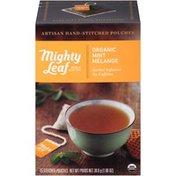 Mighty Leaf Organic Mint Melange Tea