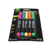 Academix Pen Style Assorted Colors Highlighters