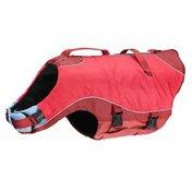 Kurgo Surf & Turf Dog Dual Warm Coat & Life Vest - Red - Large