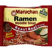 Maruchan Ramen Noodle Soup Roast Beef Flavor